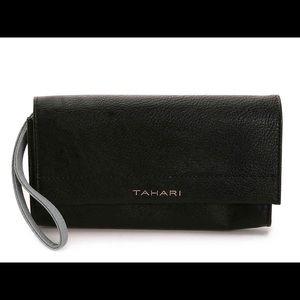 NEW Tahari Twice As Nice Clutch Wrist Wallet RFID